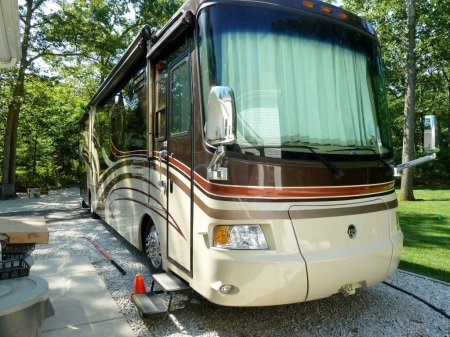 Motor Home in Driveway